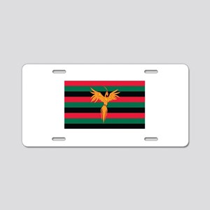 Aboriginal Moabite Nation Flag Aluminum License Pl