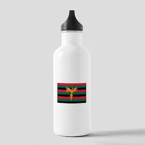 Aboriginal Moabite Nation Flag Stainless Water Bot