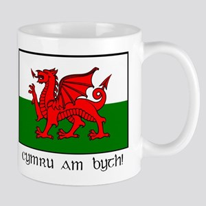 Mug With Welsh Flag Mugs