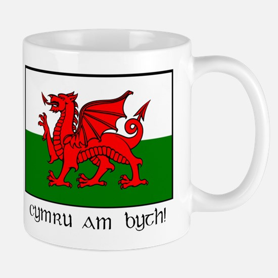 Mug with Welsh Flag