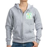 Build Better Baby Brains Women's Zip Hoodie