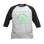Build Better Baby Brains Kids Baseball Jersey