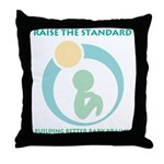 Build Better Baby Brains Throw Pillow
