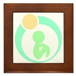 Build Better Baby Brains Framed Tile