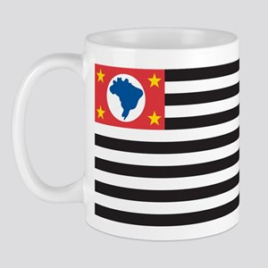 Sao Paulo Flag Mug