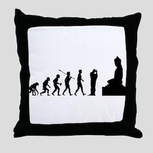 Buddhist Throw Pillow
