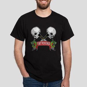 Tattooed Black T-Shirt