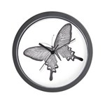 Swallowtail Wall Clock