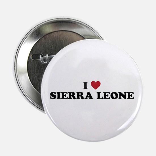 "I Love Sierra Leone 2.25"" Button"