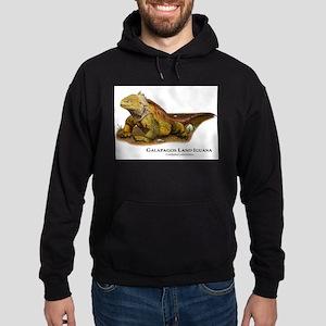 Galapagos Land Iguana Hoodie (dark)