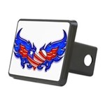 heartwings4a Rectangular Hitch Cover