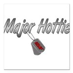 majorhottieusaf3 Square Car Magnet 3
