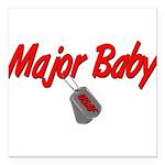 majorbabyusaf Square Car Magnet 3