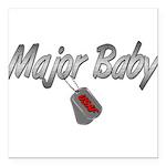 majorbabyusaf3 Square Car Magnet 3