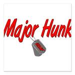 majorhunkusaf Square Car Magnet 3