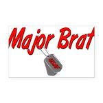 majorbratusaf Rectangle Car Magnet