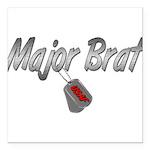 majorbratusaf3 Square Car Magnet 3