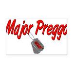 majorpreggousaf Rectangle Car Magnet