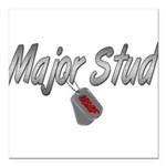 majorstudusaf3 Square Car Magnet 3
