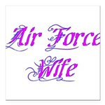 Air Force Wife ver2 Square Car Magnet 3