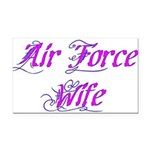 Air Force Wife ver2 Rectangle Car Magnet