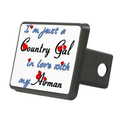 Country Gal Air Force Love Hitch Cover