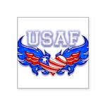 usafheartwing2 Square Sticker 3