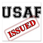 USAF Issued Square Car Magnet 3