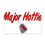 majorhottiearmy Rectangle Car Magnet