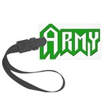 Military - Army Large Luggage Tag