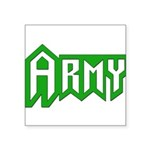 Military - Army Square Sticker 3