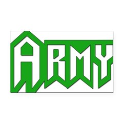Military - Army Rectangle Car Magnet