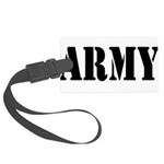 Army Large Luggage Tag
