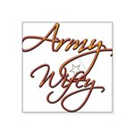 armywifey Square Sticker 3
