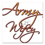 armywifey Square Car Magnet 3