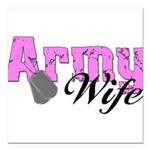 armywife99 Square Car Magnet 3