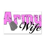 armywife99 Rectangle Car Magnet