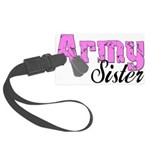 armysister99 Large Luggage Tag