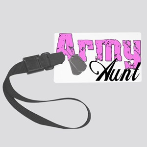 armyaunt99 Large Luggage Tag