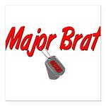 majorbratuscg Square Car Magnet 3