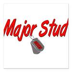 majorstuduscg Square Car Magnet 3