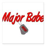 majorbabeuscg2 Square Car Magnet 3