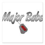 majorbabeuscg3 Square Car Magnet 3
