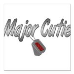 majorcutieuscg3 Square Car Magnet 3