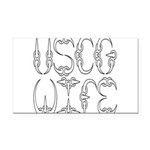uscgclawwife2 Rectangle Car Magnet