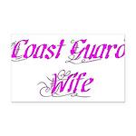 Coast Guard Wife Rectangle Car Magnet
