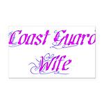 Coast Guard Wife ver2 Rectangle Car Magnet