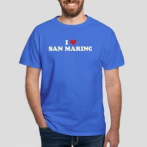 I Love San Marino Dark T-Shirt