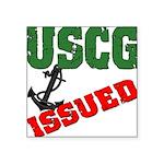 uscgissued5 Square Sticker 3