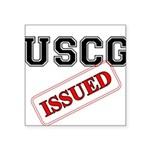 USCG Issued Square Sticker 3